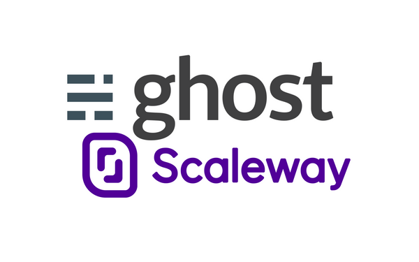 POC - Déployer en 5 min un blog Ghost 3 chez Scaleway
